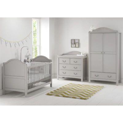 East Coast Toulouse 3 Piece + Nursery Room Set   Grey