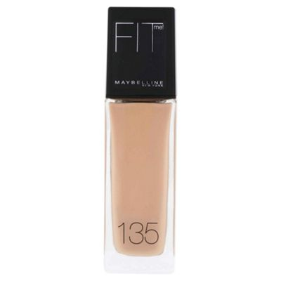 Maybelline New York Fit Me! Make-Up Liquid Foundation SPF18 135 Creamy Natural 30ml