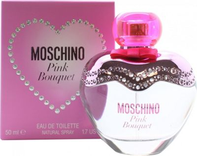Moschino Pink Bouquet Eau de Toilette (EDT) 50ml Spray For Women