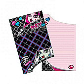 Monster High 6 Pack Party Invitations Accessories