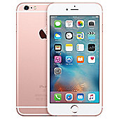 Apple iPhone 6 Plus 128GB - Rose Gold & Otterbox Symmetry Black Case