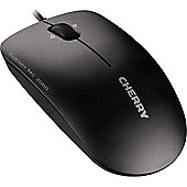 Cherry MC 2000 Mouse - Infrared - Cable - 3 Button(s) - Black