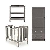 OBaby Ludlow 3 Piece Furniture Set (Taupe Grey)