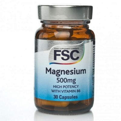 FSC Magnesium 500mg Veg Capsules