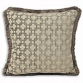 Riva Home Belmont Silver Cushion Cover - 45x45cm
