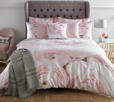 Karl Lagerfeld Rana Rose duvet cover - pink - double