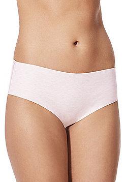 F&F Marl No VPL Shorts - Pink