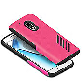 Orzly Grip-Pro Case for Moto G4 /G4 Plus -PINK