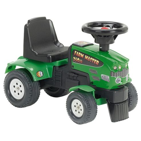Green Tractor Farm Ride-On