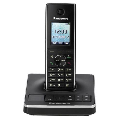 Panasonic KX-TG8561EB Cordless Phone - Black