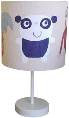 Animal Kingdom Fabric Bedside Lamp