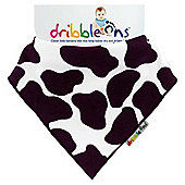 Dribble Ons Designer Cow Print