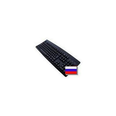 Accuratus 260 Standard USB/PS/2 Keyboard (Black) - Russian