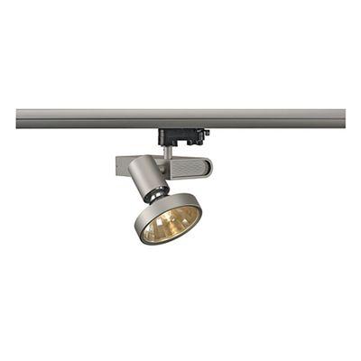 Sleek Spotlight Silvergrey Max. 70W Including Reflector 3 Circuit Adaptor