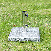 Outsunny 30kg Garden Umbrella Base for Parasol