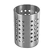 Apollo Round Stainless Steel Utensil Holder