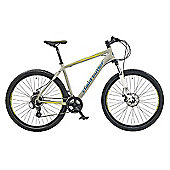 "Claud Butler Alpina 2.5 17"" Grey Performance Mountain Bike"