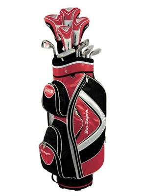 Ben Sayers Men's M15 Right Hand Regular Cart Bag - Red/Black