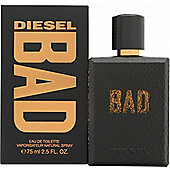 Diesel Bad Eau de Toilette (EDT) 75ml Spray For Men