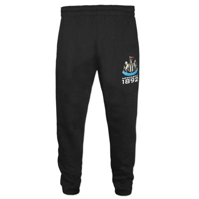 Newcastle United FC Boys Slim Fit Jog Pants Black 6-7 Years