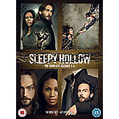 Sleepy Hollow Season 1-4 Dvd Box Set