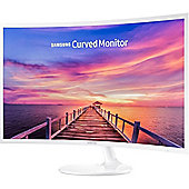 Samsung C32F391 32-Inch Curved LED Monitor White