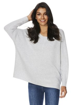 F&F Ribbed Jumper with As New Technology Grey 8