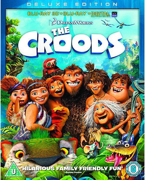 The Croods (3D Blu-ray, Blu-ray & UV)
