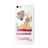 Disney Bambi Personalised White iPhone 5/5s Cover