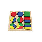 Viga Wooden Shape Block Puzzle