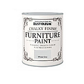 Rust-Oleum Chalky Furniture Paint - Winter Grey - 750ML