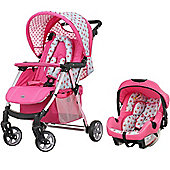 OBaby Hera Travel System (Cottage Rose)