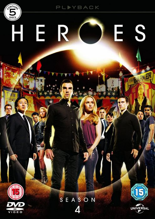 Heroes - Series 4 - Complete (DVD Boxset)