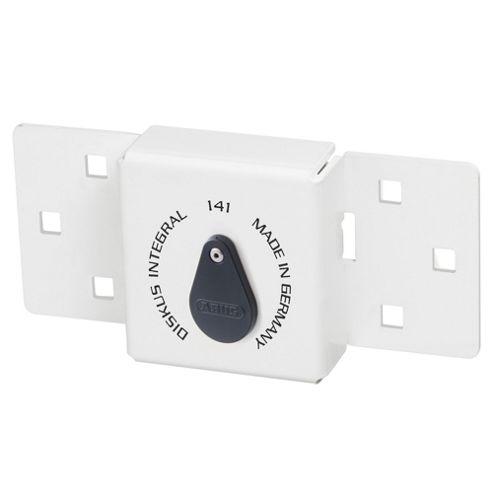 Integral Van Lock White 141/200 + 23/70 with 70mm Series 23 Diskus Padlock
