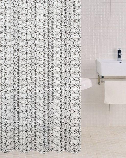 Sabichi PEVA Shower Curtain in Metric