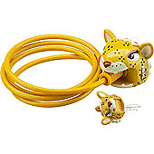 Crazy Stuff Cable Lock, Leopard