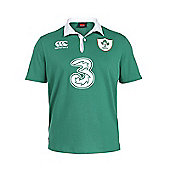 Canterbury Ireland Rugby IRFU 6 Nations Home Classic S/S Jersey 15/16 - Green