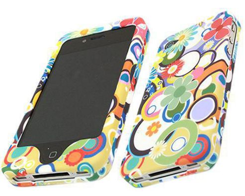 iTALKonline 16748 Potpuri SnapGuard Protection Case and Screen Protector For - Apple iPhone 4