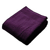 Homescapes Grape Luxury Bath Sheet 500 GSM 100% Egyptian Cotton, 95 x 150 cm