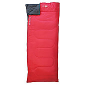 Yellowstone Comfort 200gsm Single Sleeping Bag Red