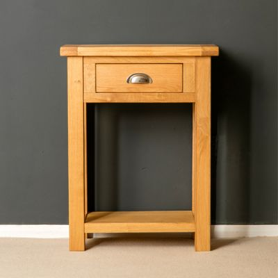 Truro Oak Telephone Table