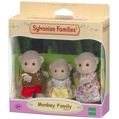 SYLVANIAN Families Monkey Family [3] Figures 5214