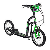 "Concept Alien 14"" BMX Style Push Kick Scooter Black"