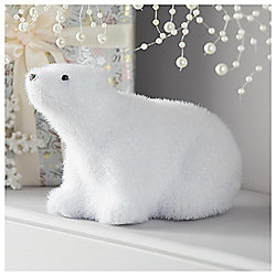 tesco polar bear christmas decoration