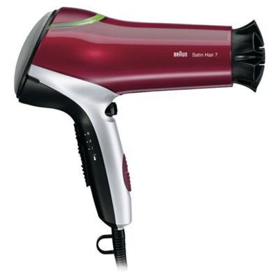 Braun Satin Hair 7 HD770 Colour Saver Hair Dryer with diffuser