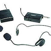 ProSound UHF Selectable Frequency Single Wireless Bodypack Microphone Kit