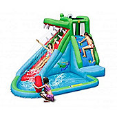 Crocodile Creek 11.5ft Inflatable Waterslide - Happy Hop