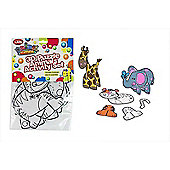 Animal Antics 3D Puzzle Animals Activity Set 3+