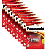 10 x Panasonic CR123A 3V Lithium Photo Battery 123 CR123 DL123 CR17345 Camera