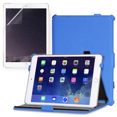 Apple iPad Mini 2 Black Case & Screen Protector